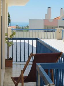 A balcony or terrace at B.Ericeira Surf rental