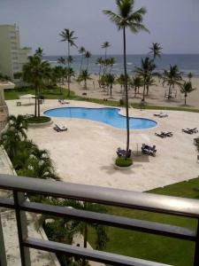 A view of the pool at Costa del Sol Juan Dolio or nearby