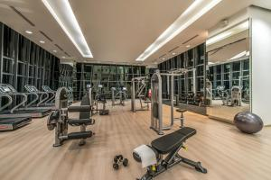 The fitness center and/or fitness facilities at Ascott Sentral Kuala Lumpur