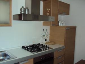 A kitchen or kitchenette at Casa Soppelsa