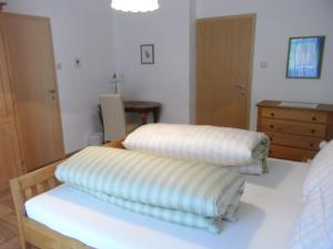 Ein Bett oder Betten in einem Zimmer der Unterkunft Zwettltalblick