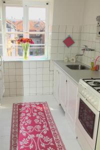 A kitchen or kitchenette at Valmuevej Apartment
