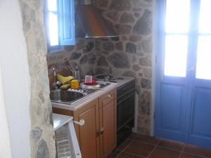 A kitchen or kitchenette at Seaview Villa