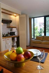 A kitchen or kitchenette at Presidente Edificio Santiago