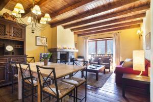 Zona d'estar a Baqueira Apartamentos Cota 1700