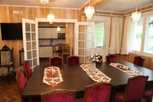 Prostor za ručavanje u vili