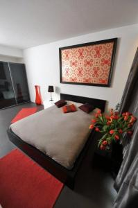 A bed or beds in a room at Apartment BeFlats
