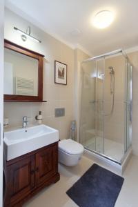 Ein Badezimmer in der Unterkunft Apartment Soukenicka