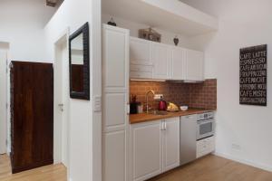 Küche/Küchenzeile in der Unterkunft Apartment Soukenicka