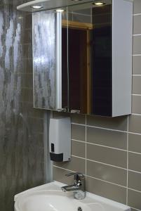 A bathroom at Pajarinhovi Villas