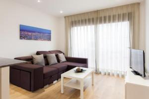 A seating area at Key San Pau House Terrace - Barcelona