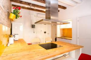 A kitchen or kitchenette at Apartment Poble Sec