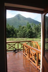 A general mountain view or a mountain view taken from the chalet