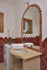 A bathroom at Residence Le Zagare