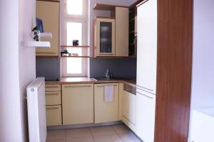 Dapur atau dapur kecil di Apartment Kozi