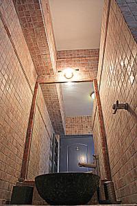 A bathroom at Villa Athena