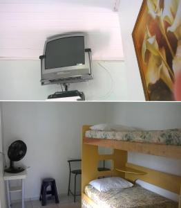 A television and/or entertainment center at Apartamentos Penha
