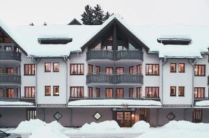 Ferienwohnungen Kupferkanne during the winter