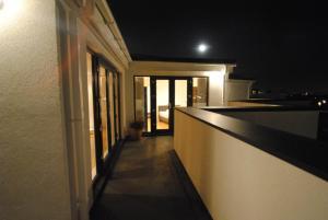 A balcony or terrace at Radalco Apartments