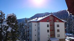 Rila Park Luxury Apartments during the winter