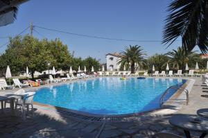 Πισίνα στο ή κοντά στο Tzilios Studios