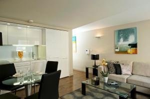 A seating area at Fraser Residence Bishopsgate