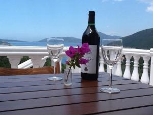 Drikke på Villa Mirista