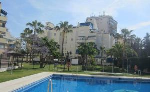 The swimming pool at or near Fuengirola Centro
