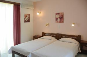 Ένα ή περισσότερα κρεβάτια σε δωμάτιο στο Στούντιο Σένια