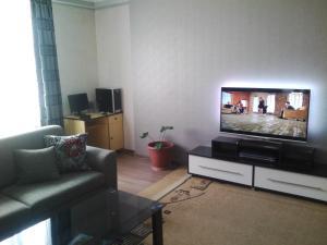 Телевизор и/или развлекательный центр в Apartment on Paliashvili