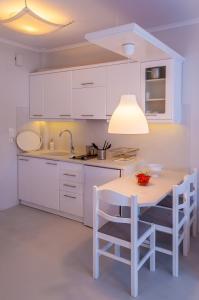 Cucina o angolo cottura di Milos Bay Suites