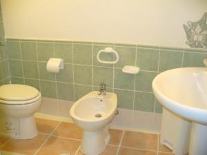 A bathroom at Apartment Old Town