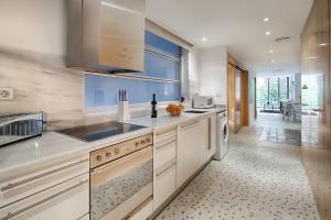 A kitchen or kitchenette at Habitat Apartments Pedrera