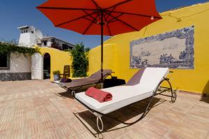 A porch or other outdoor area at Quinta do Mocho