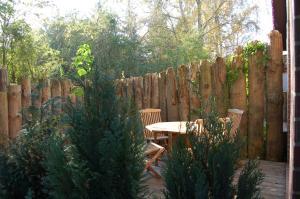 Ferienhaus im großen Garten