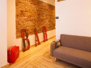 A seating area at Smart Appart Atelier Berlin