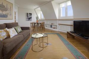 Zona de estar de Miramar Apartment by FeelFree Rentals