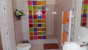 Ванная комната в Apartments Rokytka - Praha