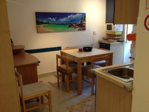 A kitchen or kitchenette at Ca'del Sole