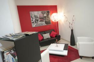 Predel za sedenje v nastanitvi Studio 17 by Atlantichotels - AL