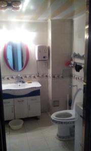 A bathroom at Beijing Yanyan Student Apartment
