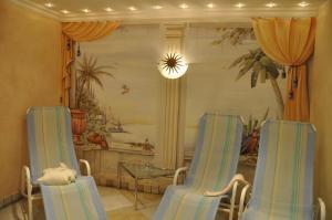 Zona de estar de Ferienhaus Brigitte