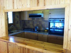 A kitchen or kitchenette at Gaudeix De La Cerdanya