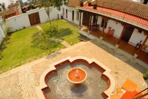 Vista de la piscina de Villas de la Ermita o alrededores
