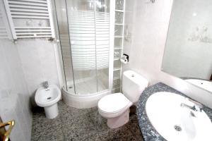 A bathroom at Near Maresme Forum Apartment