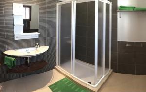A bathroom at Casa Nimbara