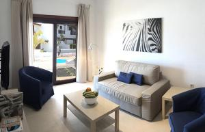 A seating area at Casa Nimbara