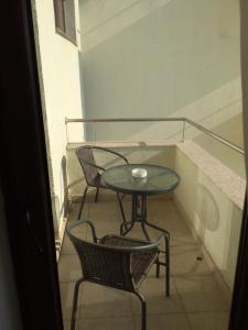 Un balcon sau o terasă la Studio Andra