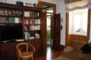 Tatil evindeki kütüphane