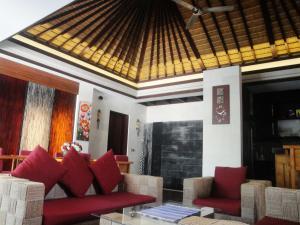Zona de estar de Vlad Bali Villa
